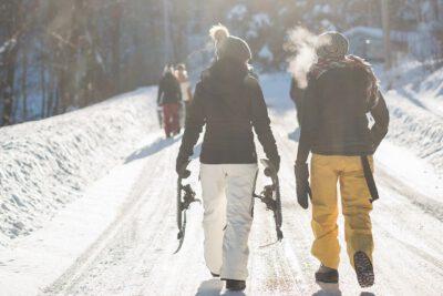 Kobiety na nartach